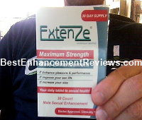 Extenze warranty options