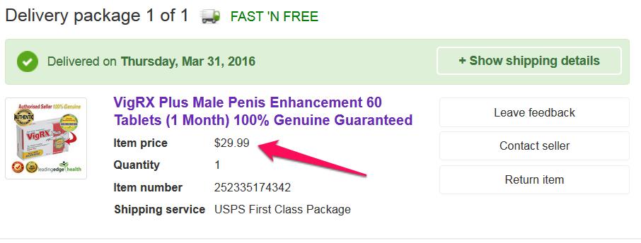 fake vigrx plus on ebay