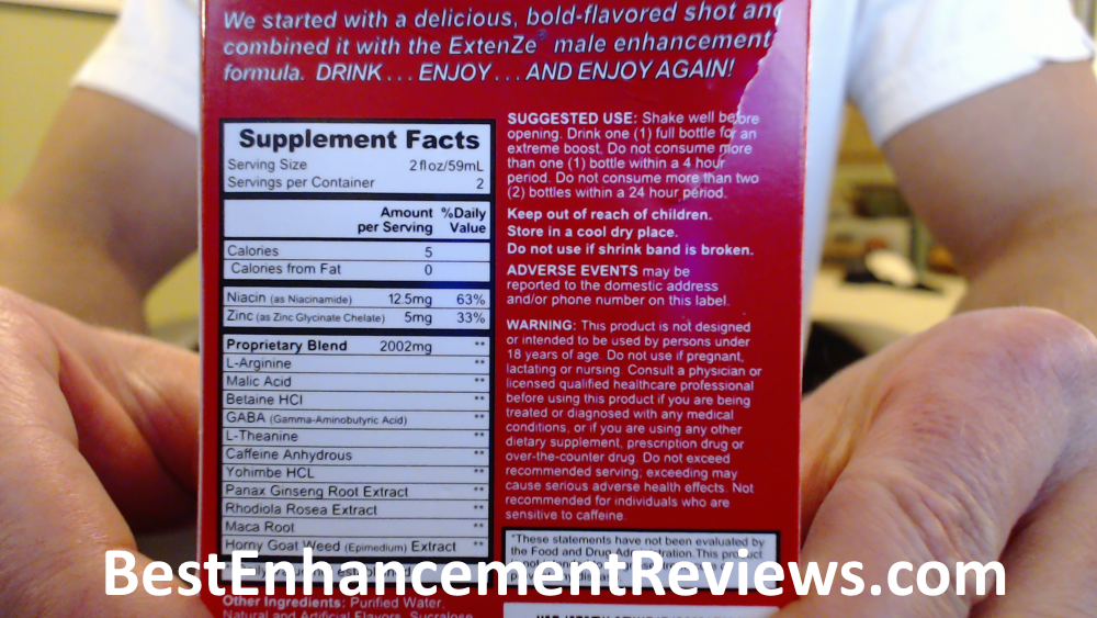 Extenze Liquid Review 4 Big Reasons It Might Not Be Worth It