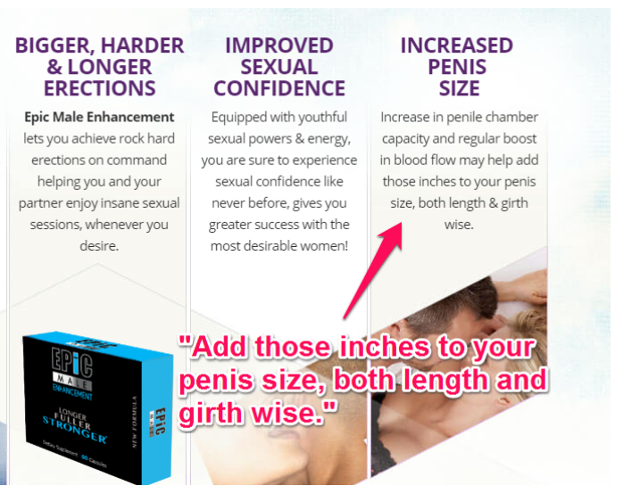 Epic Male Enhancement Benefits Image