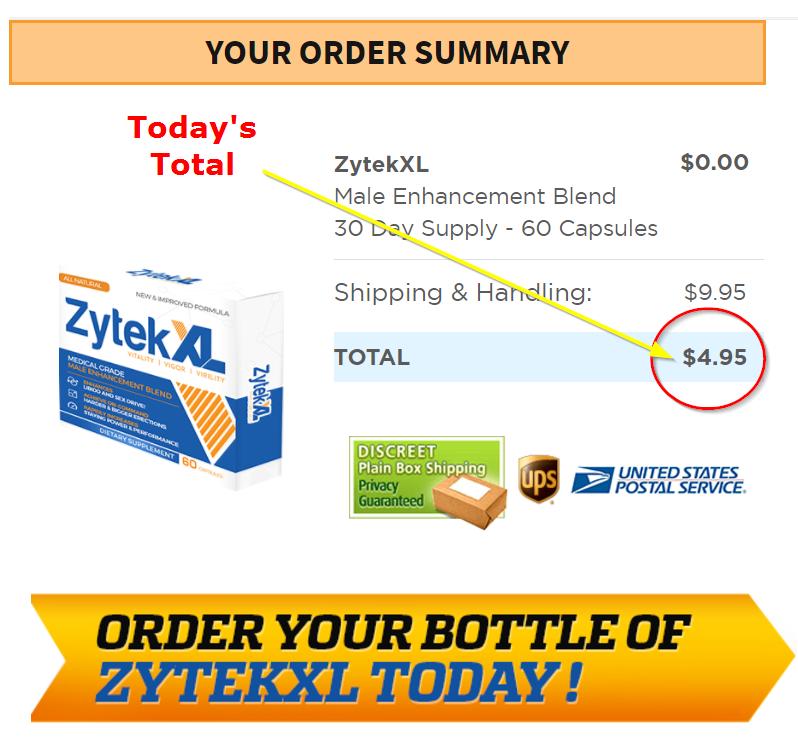 Zytek XL Free trial order image
